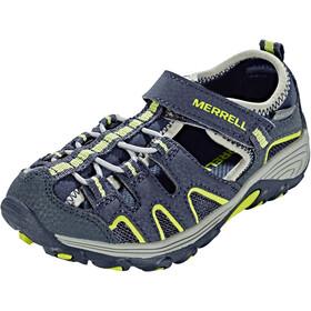 Merrell Hydro H2O Hiker Sandals Boys Navy/Lime